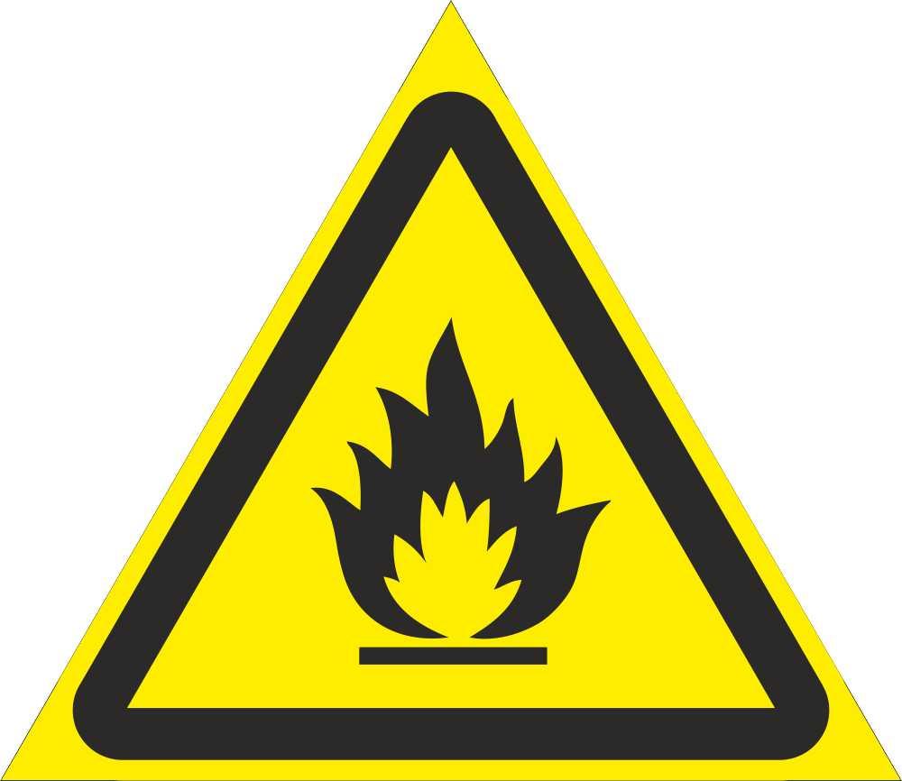 ГОСТ предупреждающие таблички
